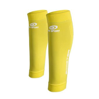 Bv Sport BOOSTER ONE - Calf Sleeves - yellow