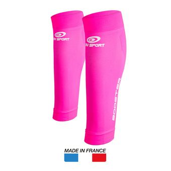 Manchons de compression femme BOOSTER ONE rose