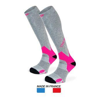 Bv Sport TREK - Calcetines grey/pink