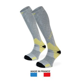 Chaussettes de randonnée TREK gris/olive