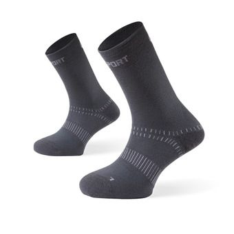 Hiking Socks - DOUBLES grey