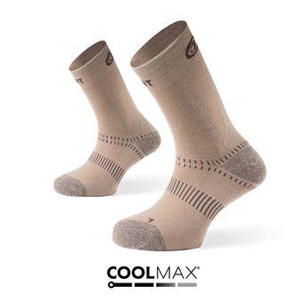 Hiking Socks - DOUBLES beige