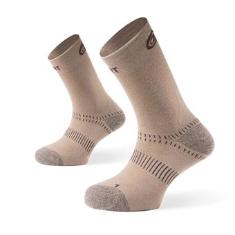 Hiking Socks - DOUBLES beige
