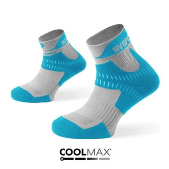 Hiking Ankle Socks - TREK grey/blue