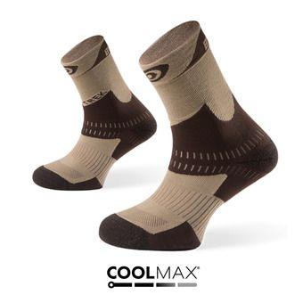 Hiking Socks - TREK+ beige