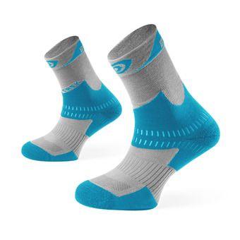 Bv Sport TREK+ - Chaussettes gris/bleu