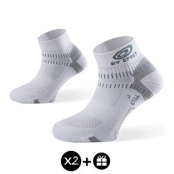 Lot de 3 paires de socquettes LIGHT ONE blanc