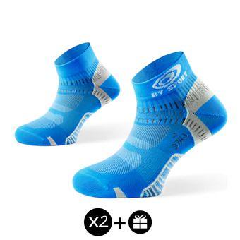 Lot de 3 paires de socquettes LIGHT ONE bleu