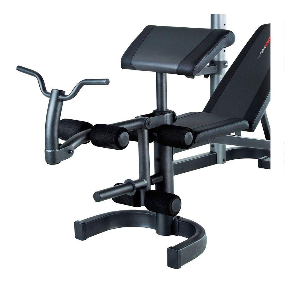 Weider Pro 490 Dc Banc De Musculation Private Sport Shop