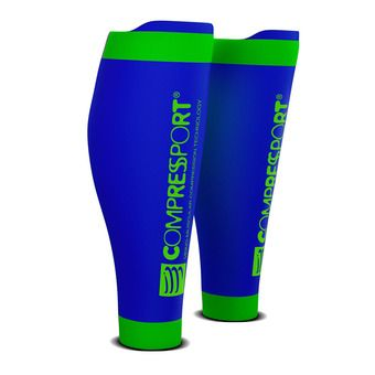 Compressport R2 V2 - Calf Sleeves - blue