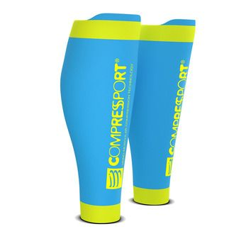Compressport R2 V2 - Medias iced blue