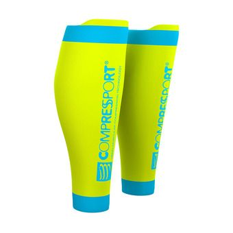 Compression Sleeves - R2 V2 yellow fluo