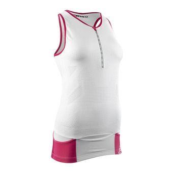 Camiseta de tirantes mujer TR3 ULTRA white