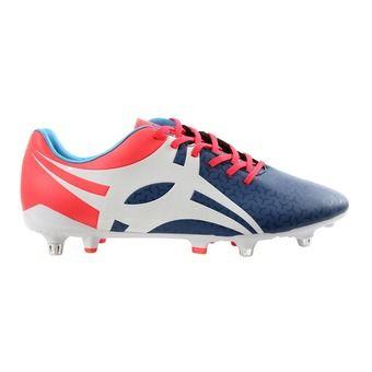 Chaussure rugby homme EVOLUTION bleu/orange/blanc