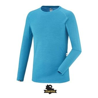 Sous-couche ML homme C WOOL BLEND 150 electric blue