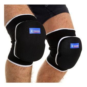 Protective knee brace - black