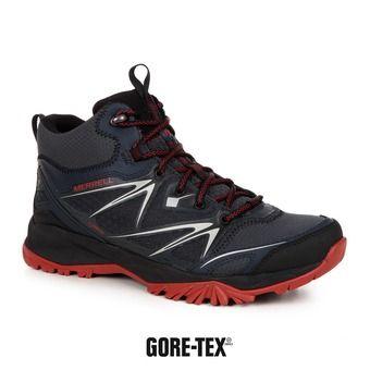 Zapatillas de senderismo hombre CAPRA BOLT MID GTX® black/navy
