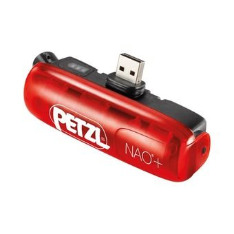 Petzl NAO+ - Batterie lampe frontale rouge