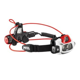 Petzl NAO+ - Lampe frontale blanc/rouge/noir