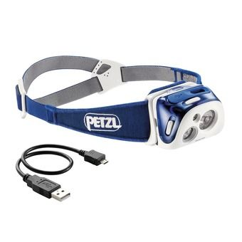 Petzl REACTIK - Linterna frontal blue