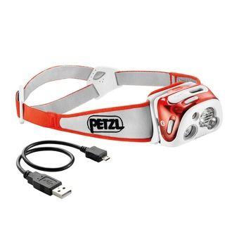 Petzl REACTIK+ - Lampe frontale corail