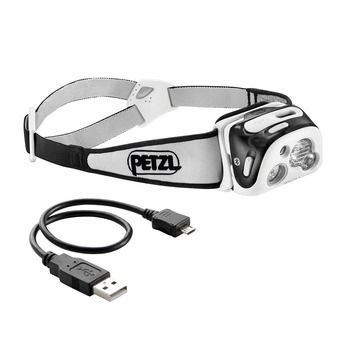 Petzl REACTIK+ - Lampe frontale noir