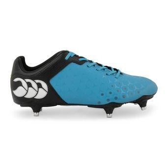 Zapatillas rugby hombre CONTROL CLUB atomic blue/black