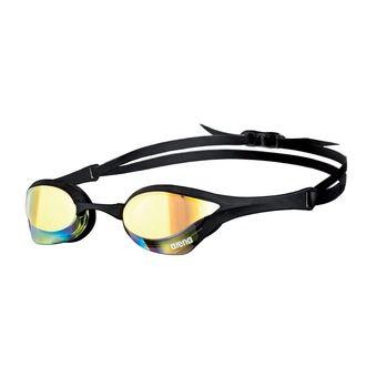 Arena COBRA ULTRA MIRROR - Lunettes de natation yellow revo/black black