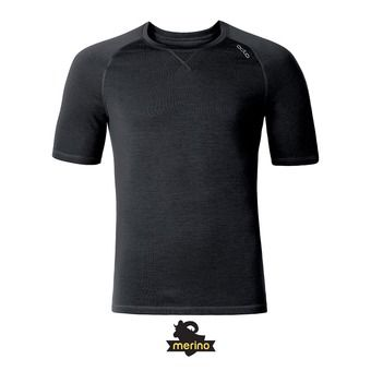 Camiseta hombre REVOLUTION TW WARM black melange