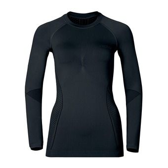 Sous-couche ML femme EVOLUTION WARM black/odlo graphite grey