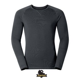 Maillot ML homme REVOLUTION TW WARM II black melange