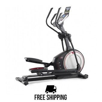 Vélo elliptique 8kg ENDURANCE 520E