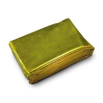 Manta de supervivencia 1.5 x 2.4m SURVIVAL dorado/plateado