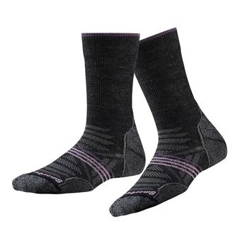 Smartwool PHD MEDIUM - Chaussettes ski Femme charcoal