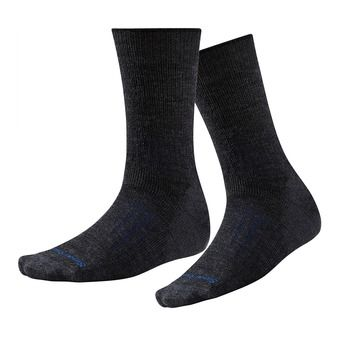 Smartwool PHD OUTDOOR HEAVY CREW - Socks - charcoal