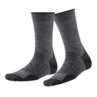 Smartwool PHD OUTDOOR LIGHT CREW - Socks - medium gray