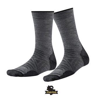Smartwool PHD OUTDOOR LIGHT CREW - Socks - medium gray
