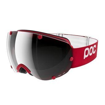Masque de ski LOBES glucose red-bronze/silver mirror
