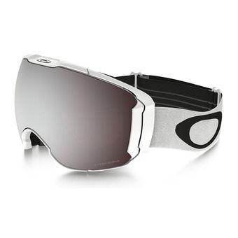 Masque de ski + écran supplémentaire AIRBRAKE XL polished white/prizm black iridium & prizm hi pink iridium