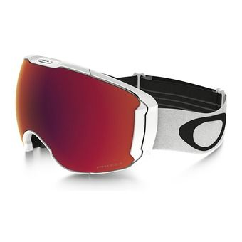 Oakley AIRBRAKE XL - Masque ski polished white/prizm torch iridium