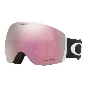 Oakley FLIGHT DECK - Gafas de esquí matte black/prizm hi pink iridium