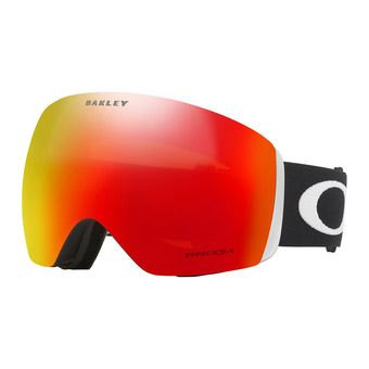 Oakley FLIGHT DECK - Ski Goggles - matt black/prizm torch iridium