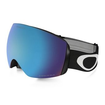 Oakley FLIGHT DECK XM - Gafas de esquí matte black/prizm sapphire iridium