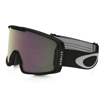 Masque de ski LINE MINER matte black/prizm hi pink iridium