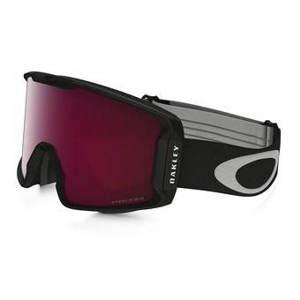 Oakley LINE MINER - Masque ski matte black/prizm rose