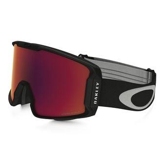 Oakley LINE MINER - Gafas de esquí matte black/prizm torch iridium