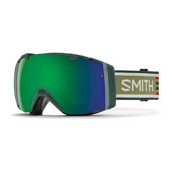 Masque de ski I/O forest woolr - écran chromaPop sun