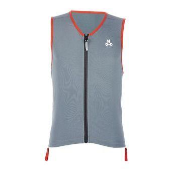 Arva ACTION - Protección dorsal mujer grey/orange