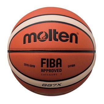 Molten GGX - Pallone da pallacanestro arancione/ivoire