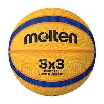 Ballon de basket 3x3 B33T2000 jaune/violet